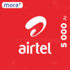 recharge airtel 5000 ar by mora