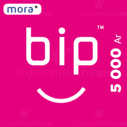recharge bip 5000 ar by mora
