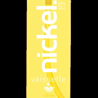 étiquette liquide vaisselle citron 600ml