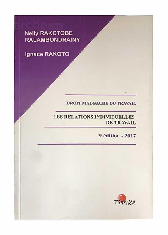 Les relations individuelles de travail | Version française | Relié 422 pages