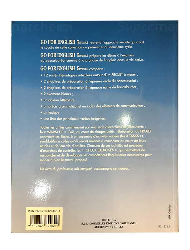 Go for English terminale   Version Anglaise   Relié: 220 pages