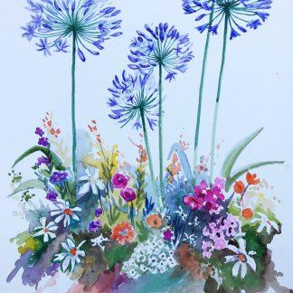Peinture Aquarelle sur Papier Canson par Prince Andriantsilavo   42 cm x 29,7 cm
