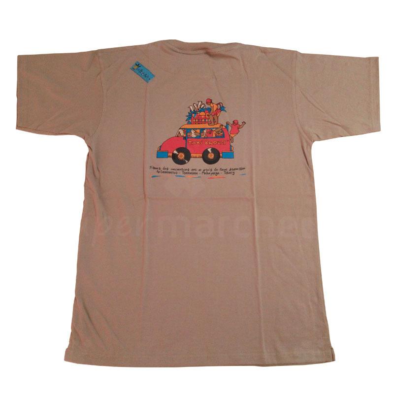 T-shirt La Sobika Beige2