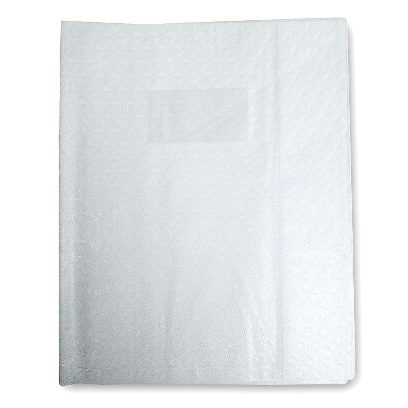 protège cahier blanc