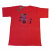 T-shirt La Sobika Rouge Adulte2