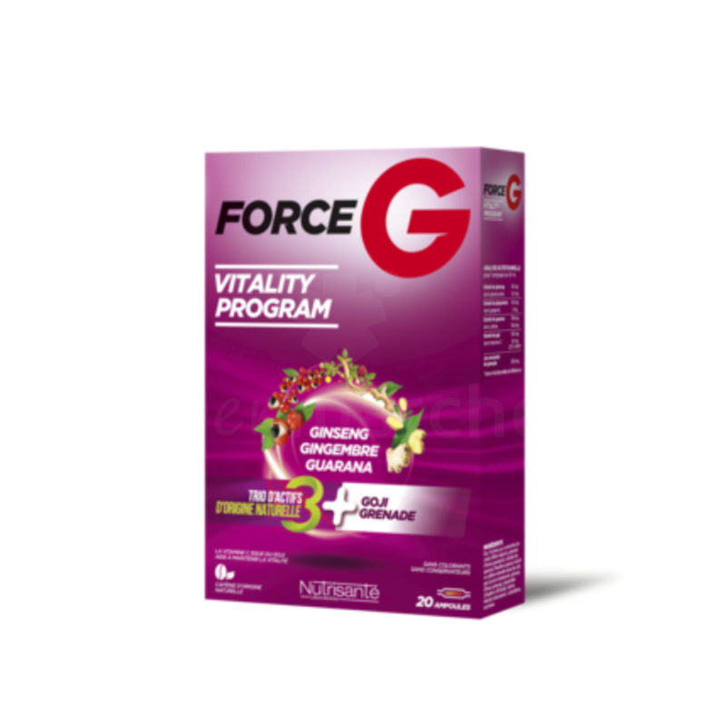 Force G 20 ampoules