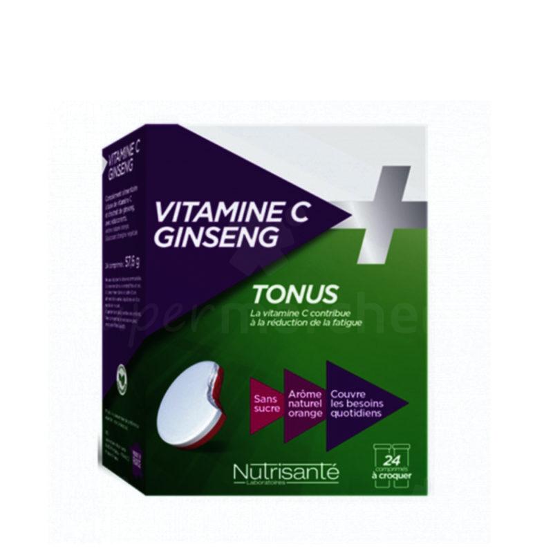 Vitamine C + Ginseng