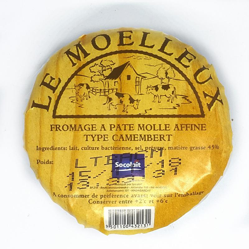 Fromage à Pâte Molle Affiné Type Camembert Le Moelleux – Socolait