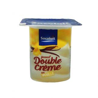 Yaourt Double Crème Socolait™ Parfum Vanille 100g
