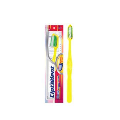 ciptadent brosse à dent cd jaune