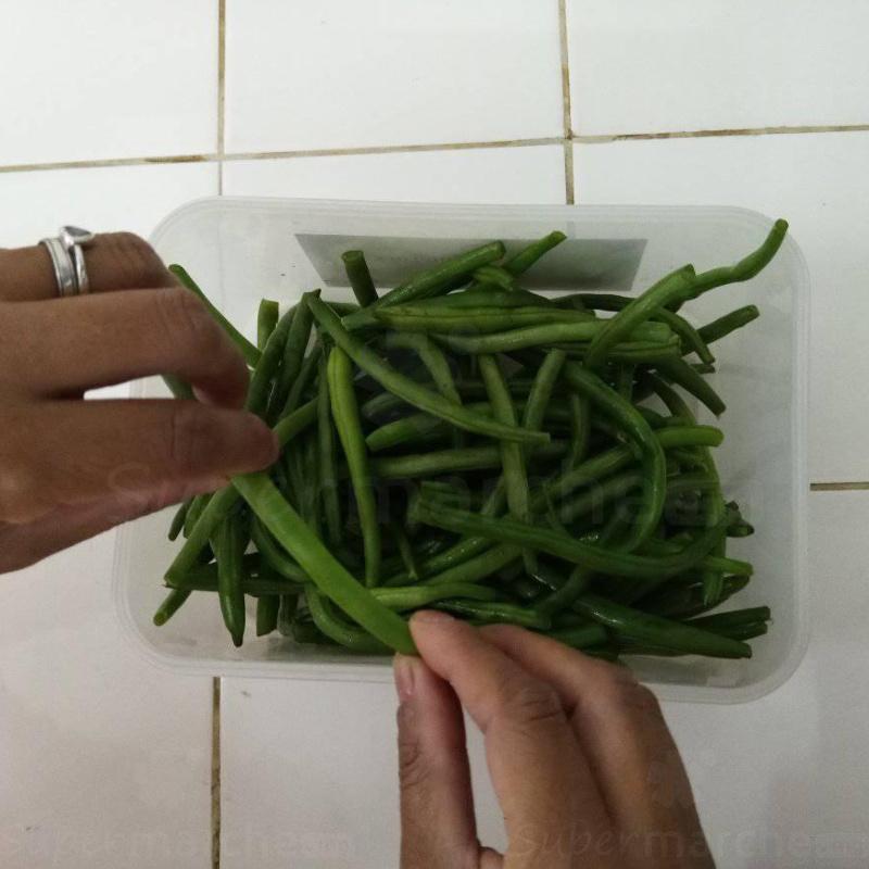 preparation haricot vert
