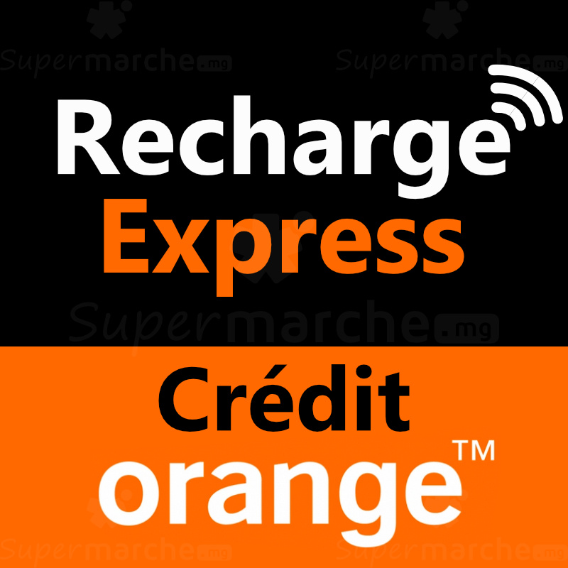 Recharge express crédit orange