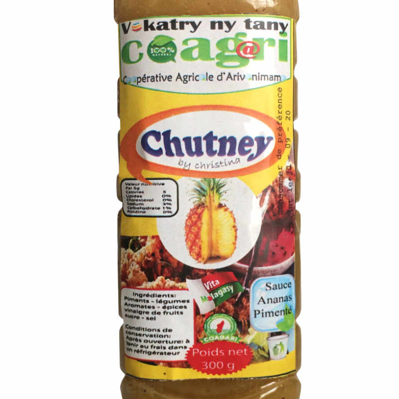 Etiquette Coagari Chutney