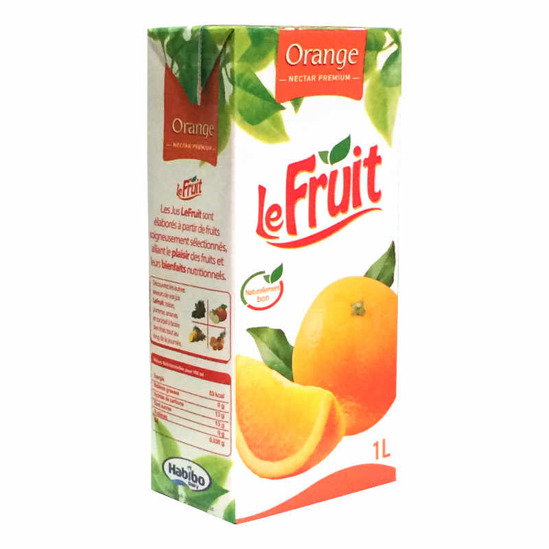Le fruit orange