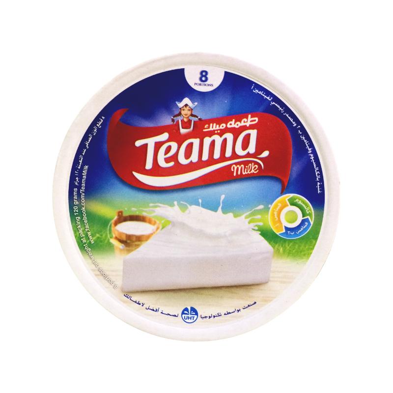 Fromage fondu teama milk
