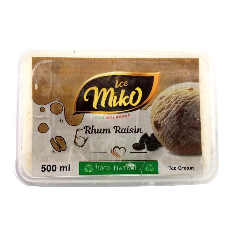 Glace rhum raisin MIKO 500ml