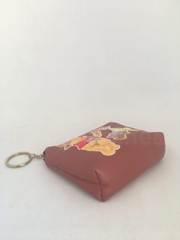Porte monnaie marron winnie 2