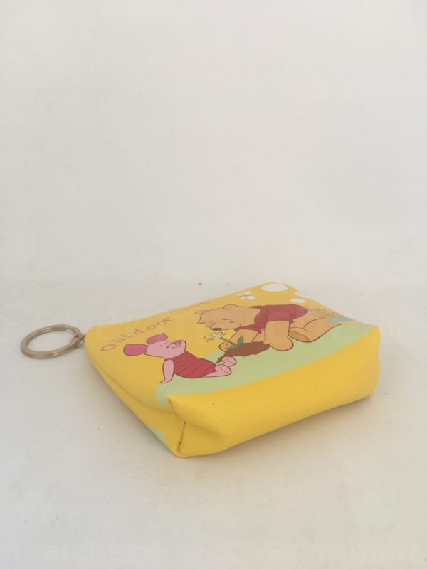 Porte monnaie jaune winnie 2