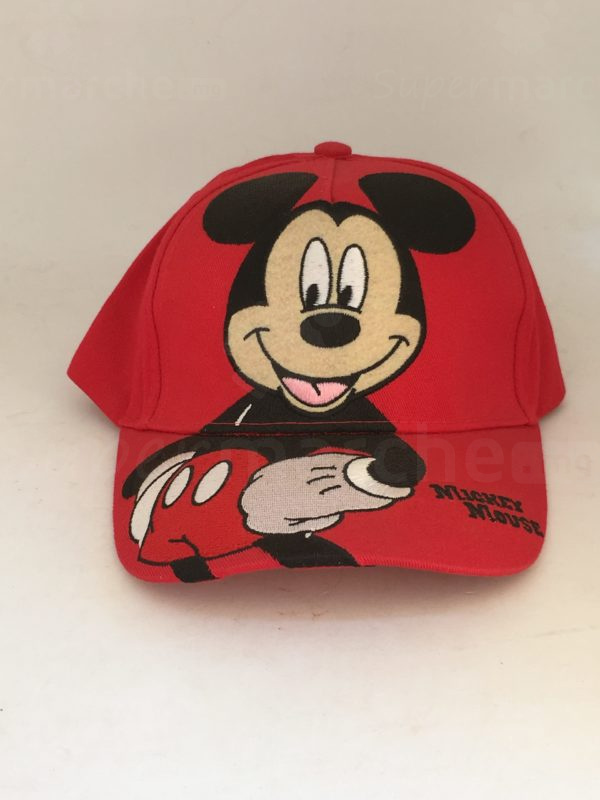 casquette mickey rouge 1