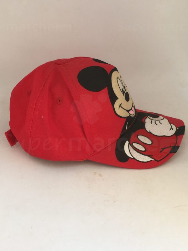 casquette mickey rouge 2