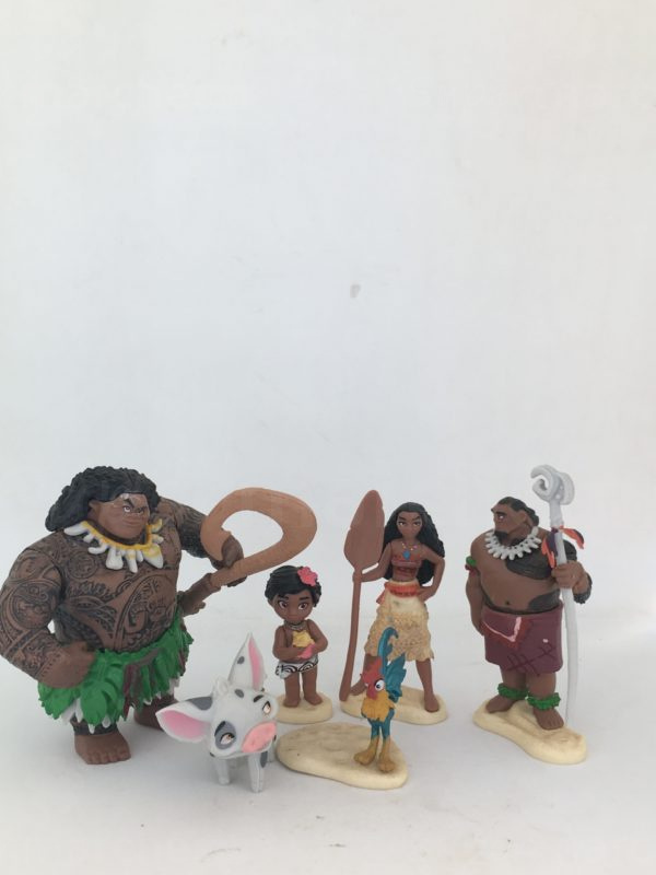 figurine mini royaume de moana