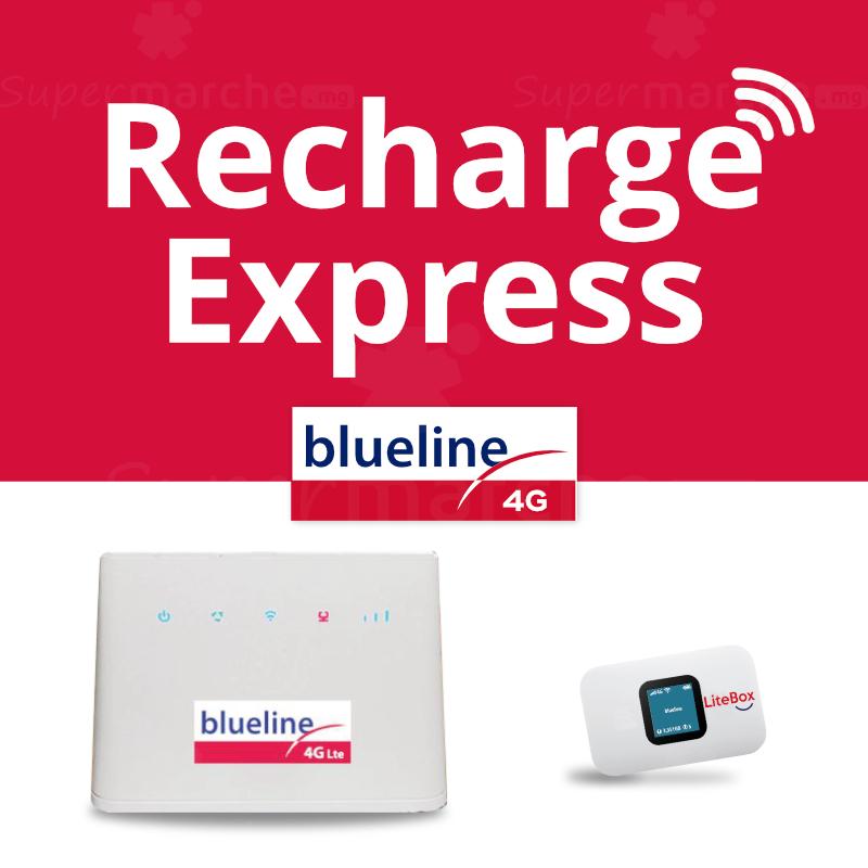 Recharge express Blueline 4G internet