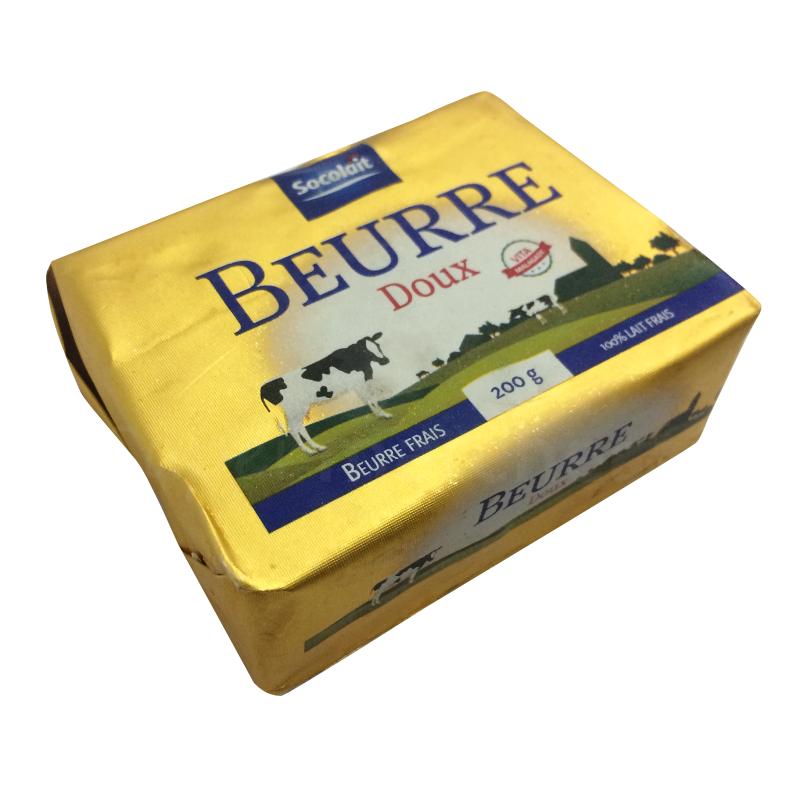 Beurre doux socolait