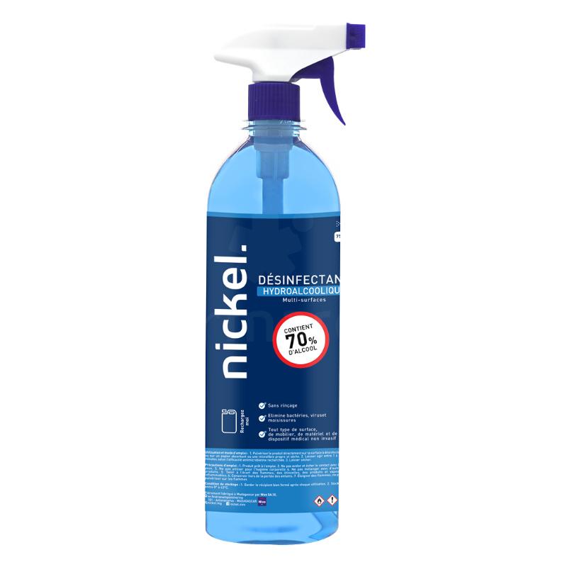 spray désinfectant