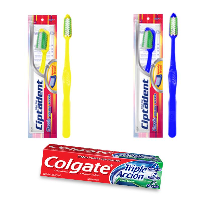 dentifrice + brosse à dent