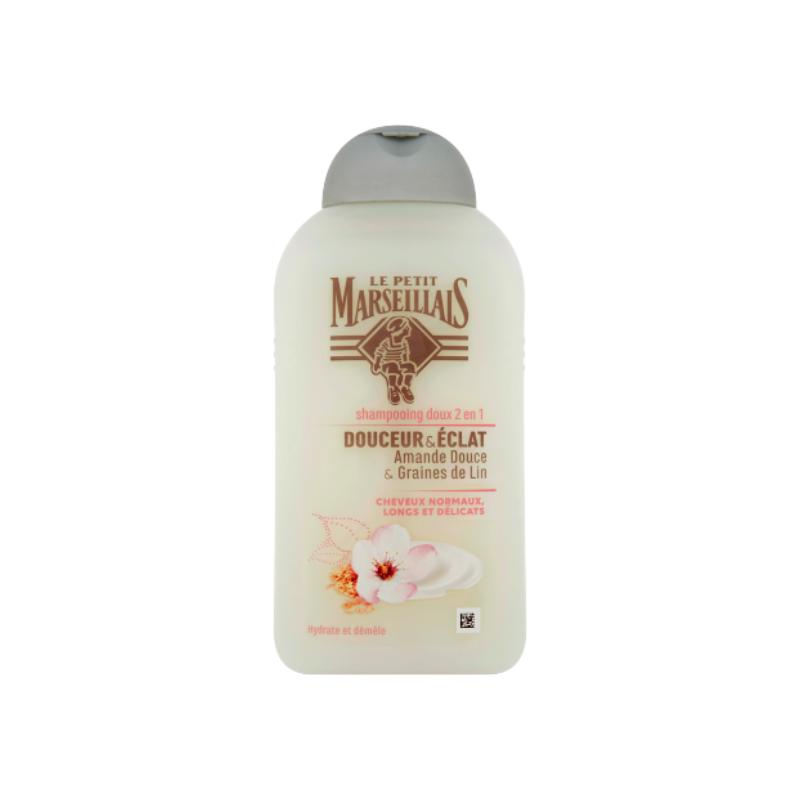 shampoing amande douce et graine de lin