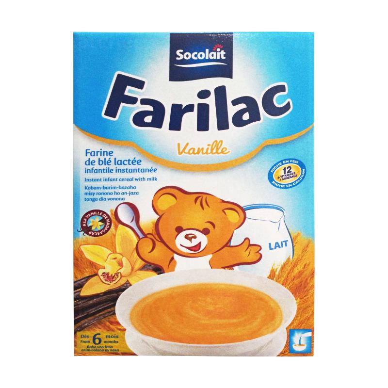 farilac vanille en carton de 200g