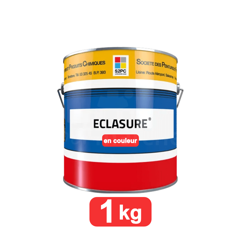 eclasure couleur 1kg