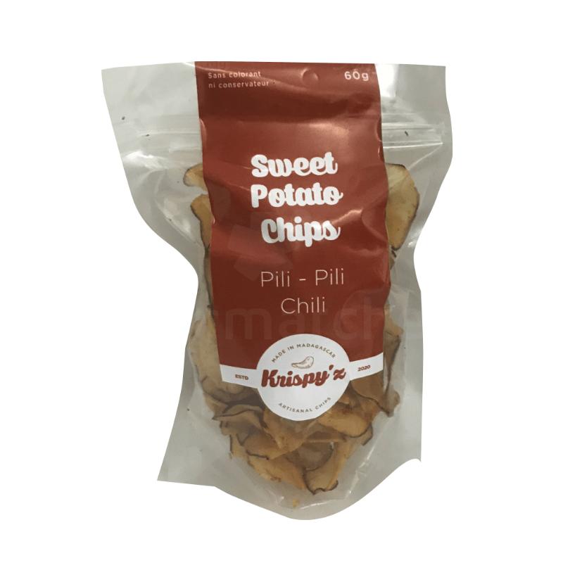 sweet potatos chips pili pili