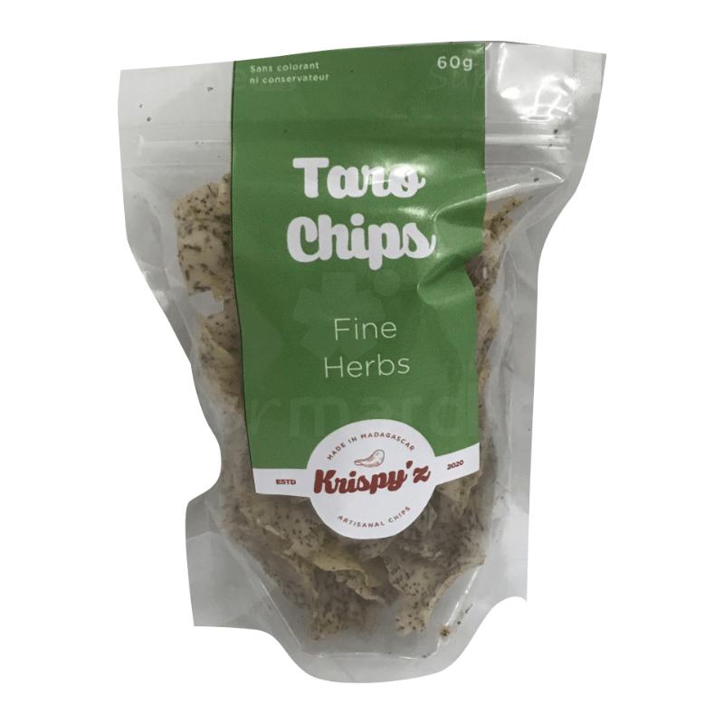 taro chips fines herbes