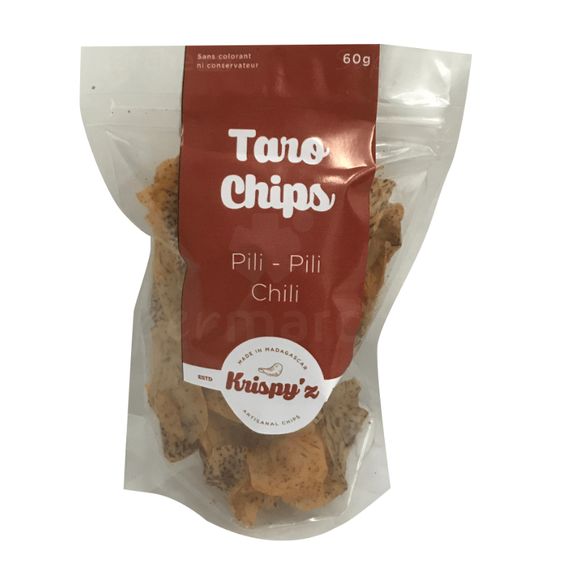 taro chips pili chilli