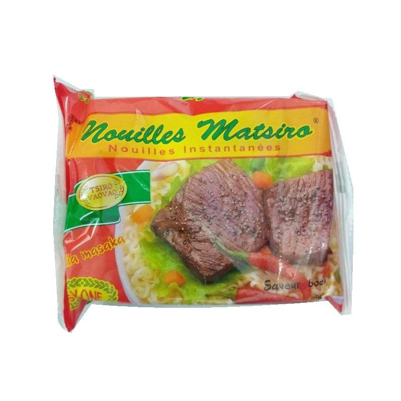Nouilles matsiro viande