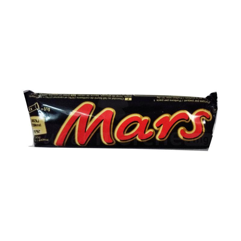 barre chocolaté mars