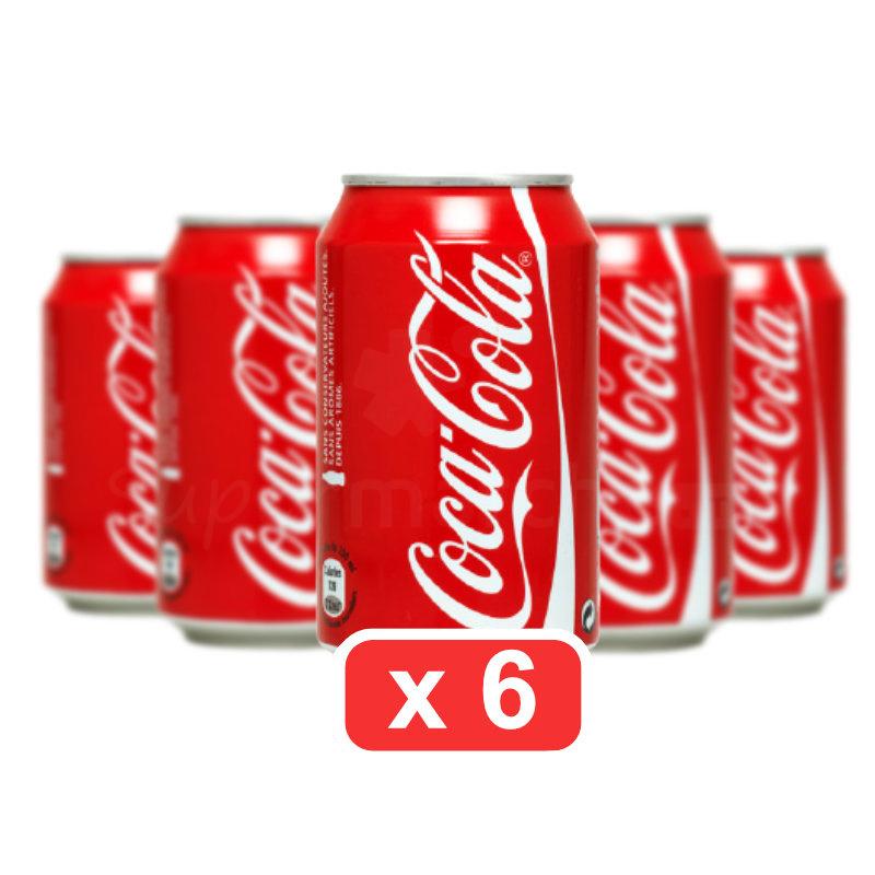 coca cola pack de 6X