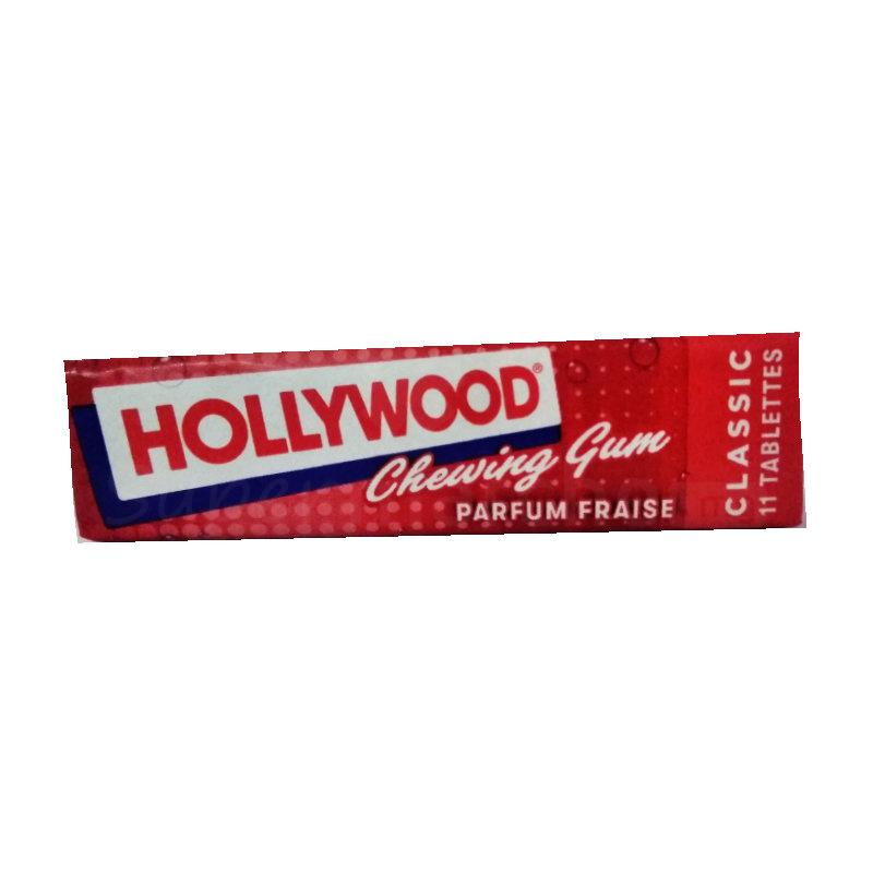 hollywood chewing gum parfum fraise
