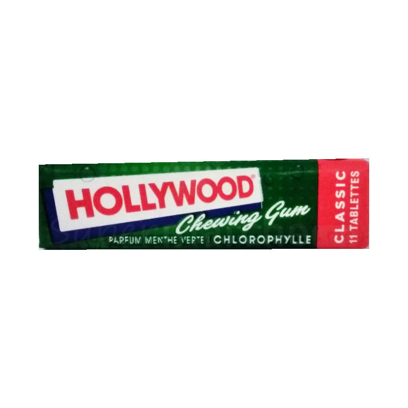 hollywood chewing gum parfum menthe