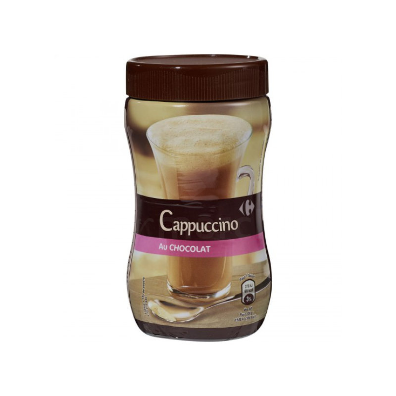 cappuccino au chocolat carrefour
