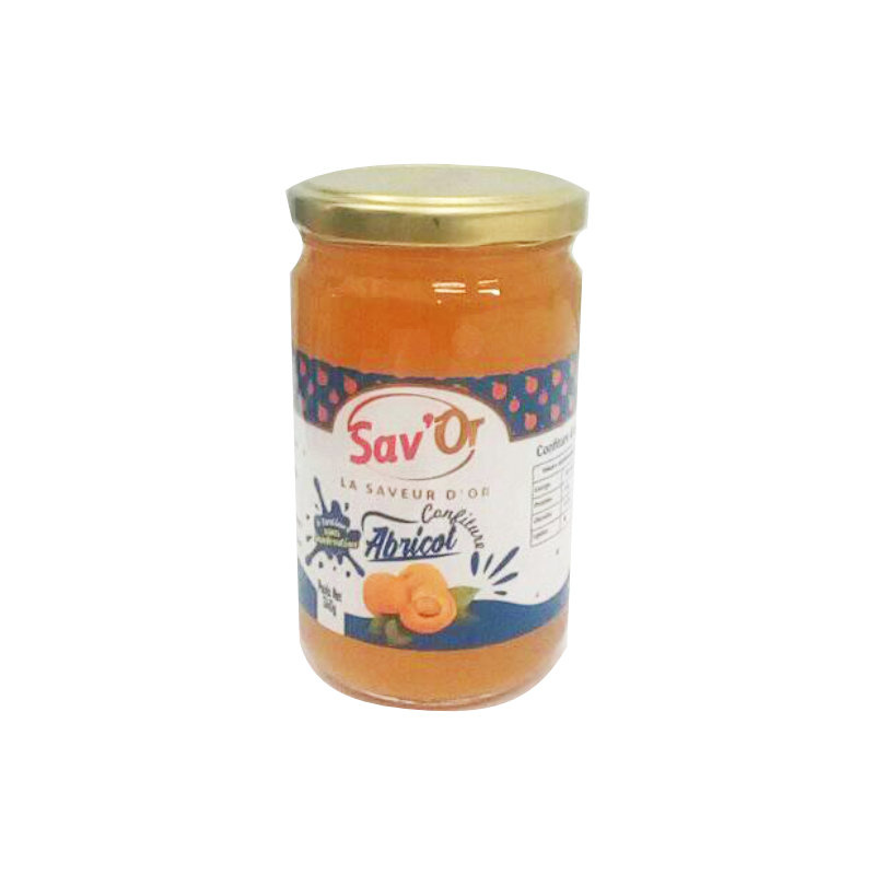 confiture abricot sav'or