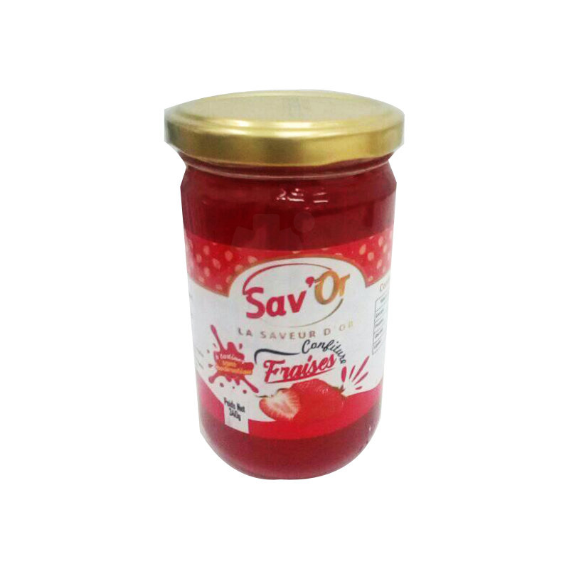 confiture sav'or fraise