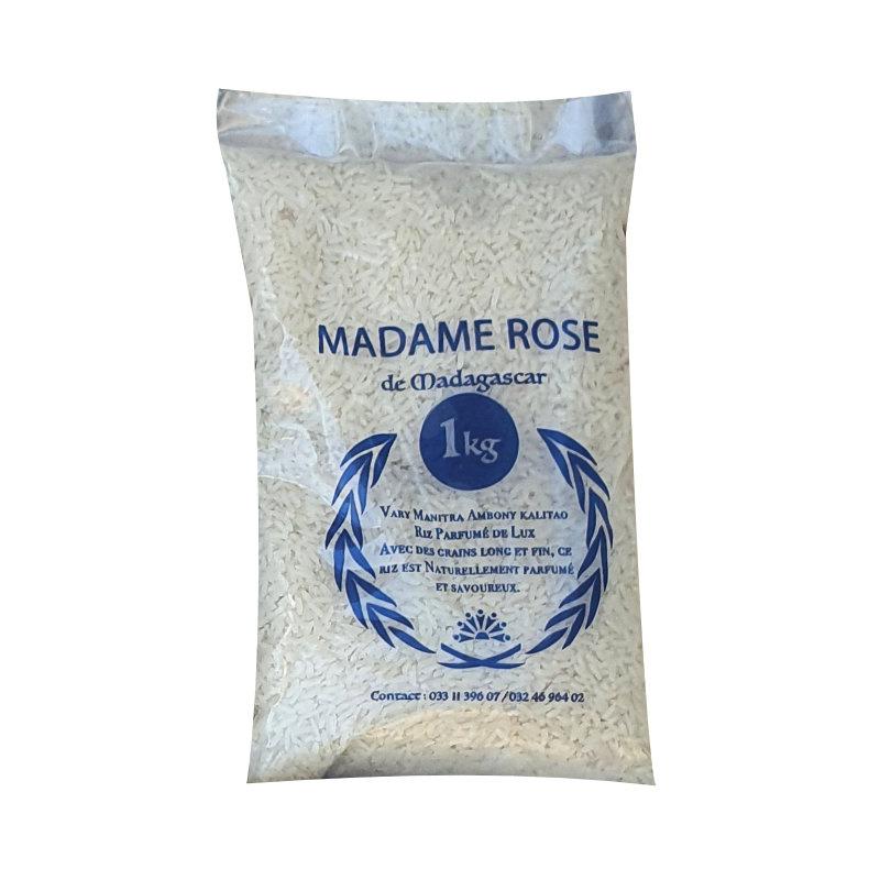 riz parfumé madame rose 1kg